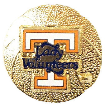 Tennessee Lady Vols Basketball Pin