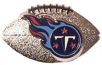 Tennessee Titans 3-D Football Pin
