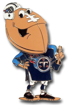 Tennessee Titans Bobble Head Pin