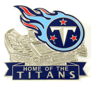 Tennessee Titans Stadium Pin