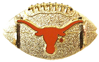 Texas Football Pin