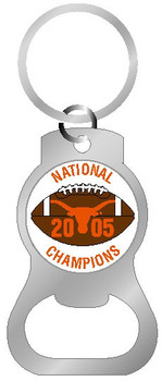 Texas 2005 National Champs Bottle Opener Key Chain