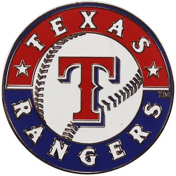 Texas Rangers Logo Pin