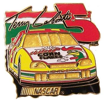 Tony LaBonte #5 Car Pin
