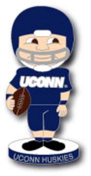 University of Connecticut Football Bobble Head Pin