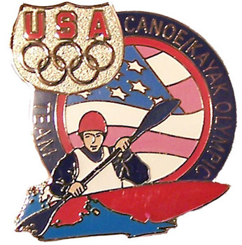 USA Canoe Kayak Olympic Team Pin