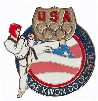 USA Olympic Team Athletes Tae Kwon Do Pin