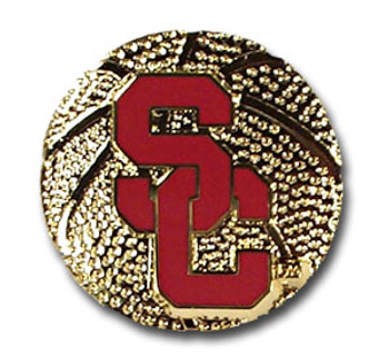 USC Basketball Pin
