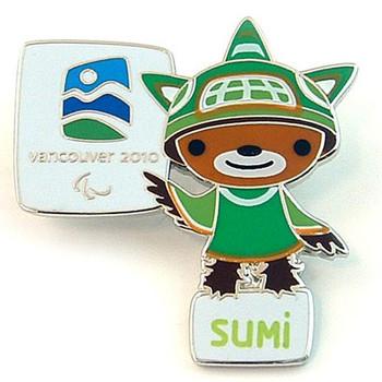 Vancouver 2010 Olympics Sumi Mascot Pin