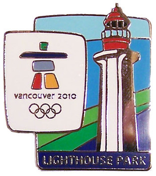 Vancouver 2010 Olympics Lighthouse Park Pin