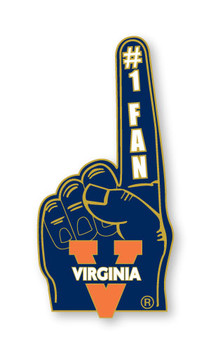Virginia #1 Fan Pin
