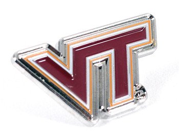 Virginia Tech Logo Pin
