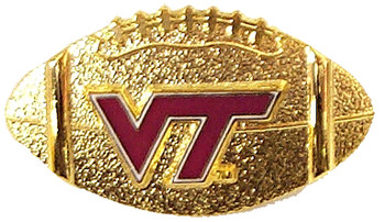 Virginia Tech Football Pin