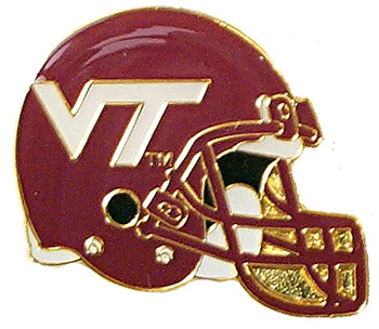 Virginia Tech Helmet Pin