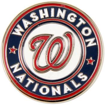 Washington Nationals Logo Pin