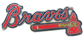 Atlanta Braves Logo Pin