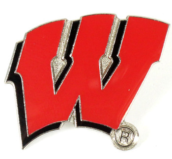 Wisconsin Logo Pin
