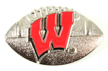 Wisconsin Football Pin