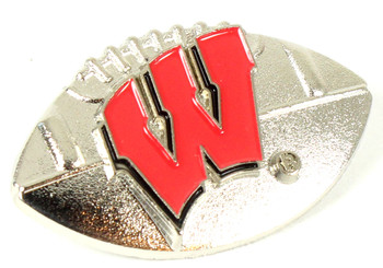 Wisconsin Football Pin