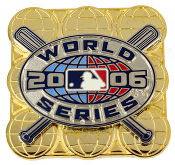 2006 World Series Double Pin - Oversized / Limited Edition 1,000