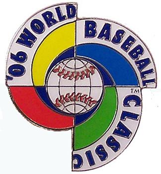 2006 World Baseball Classic Inaugural Logo Pin