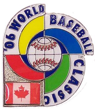 2006 World Baseball Classic Team Canada Pin