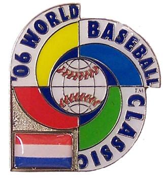 2006 World Baseball Classic Team Netherlands Pin