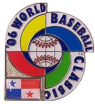 2006 World Baseball Classic Team Panama Pin