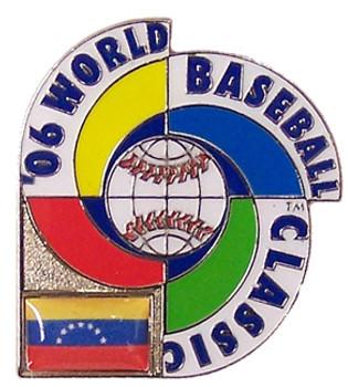 2006 World Baseball Classic Team Venezuela Pin