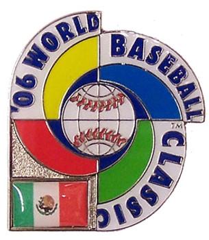 2006 World Baseball Classic Team Mexico Pin