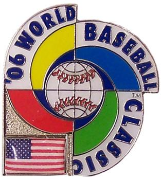 2006 World Baseball Classic Team USA Pin