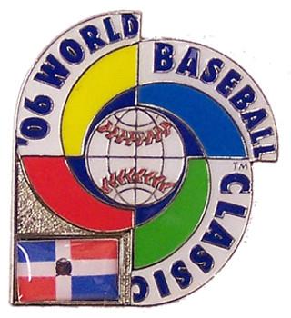 2006 World Baseball Classic Team Dominican Republic Pin