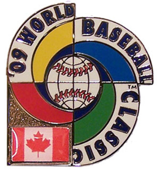 2009 World Baseball Classic Team Canada Pin