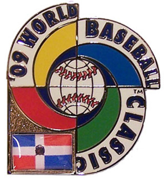2009 World Baseball Classic Team Dominican Republic Pin