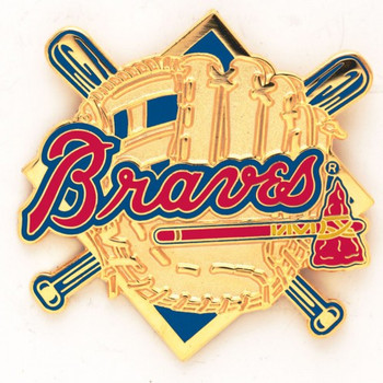 Atlanta Braves Vintage Glove Pins