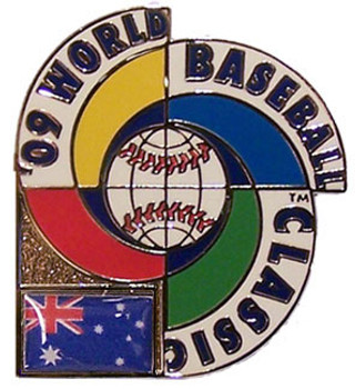 2009 World Baseball Classic Team Australia Pin