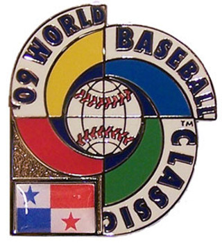 2009 World Baseball Classic Team Panama Pin