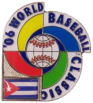 2006 World Baseball Classic Team Cuba Pin