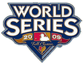 2009 World Series Logo Pin