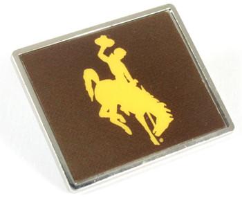 Wyoming Cowboys Logo Pin