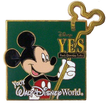 Your Educations Series (Y.E.S.) Disney Pin