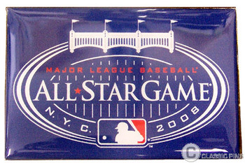 2008 MLB All-Star Game Silver Plated Magnet