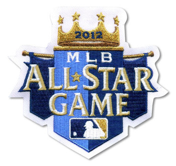 2012 MLB All-Star Game Patch