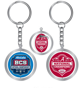Alabama 2011 National Champs Spinning Key Chain