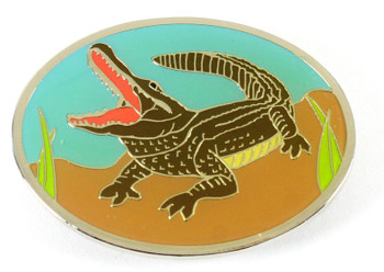 Alligator Brass Magnet