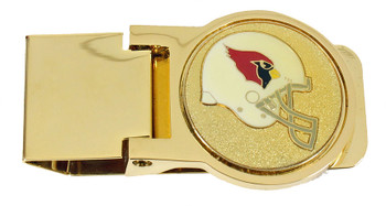 Arizona Cardinals Brass Money Clip