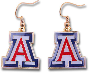 Arizona College Logo Earrings