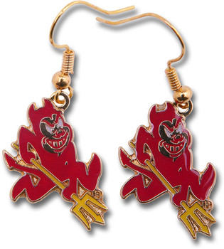 Arizona State Earrings