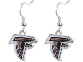 Atlanta Falcons Logo Earrings