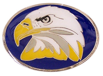 Bald Eagle Brass Magnet